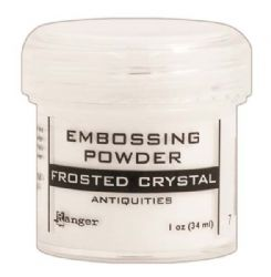 Ranger Specialty 2 Embossing Powder Antiquities™ - Frosted Crystal
